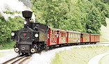 Dampfzug der Pinzgauer Lokalbahn